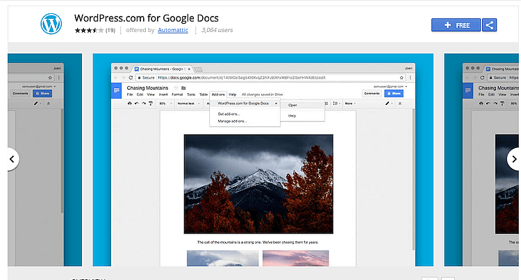 WordPress.com add-on for Google Docs: A Detailed Tutorial