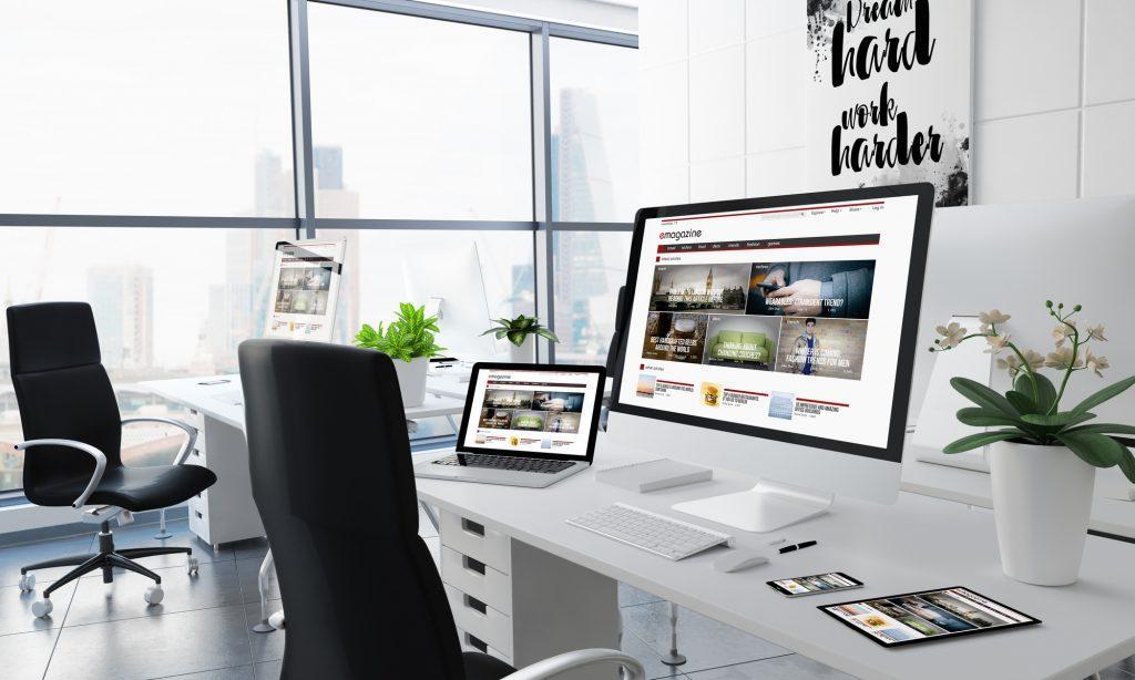 hot trends in website design in 2018